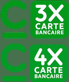Paiement CB, 3xCB et 4xCB (NOUVEAU)
