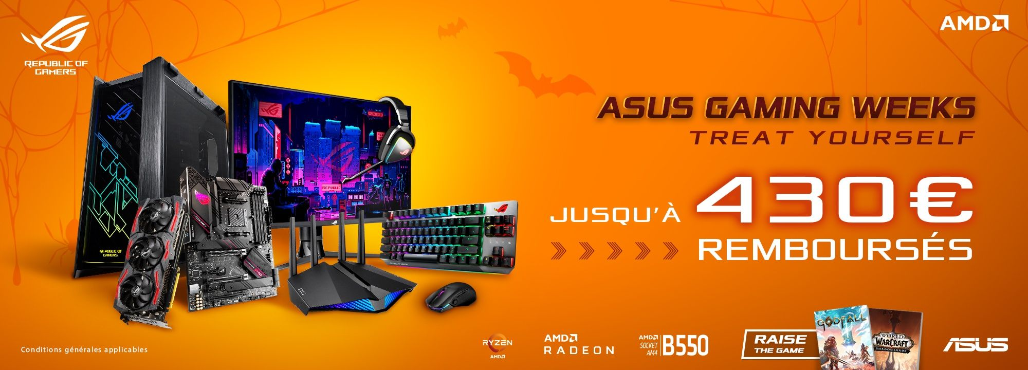 ASUS Gaming éligible